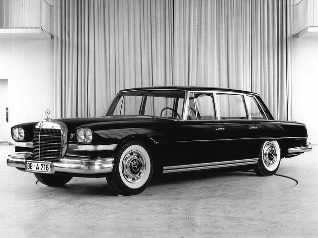 Mercedes Benz 600 W100 Prototype With Images Mercedes Benz