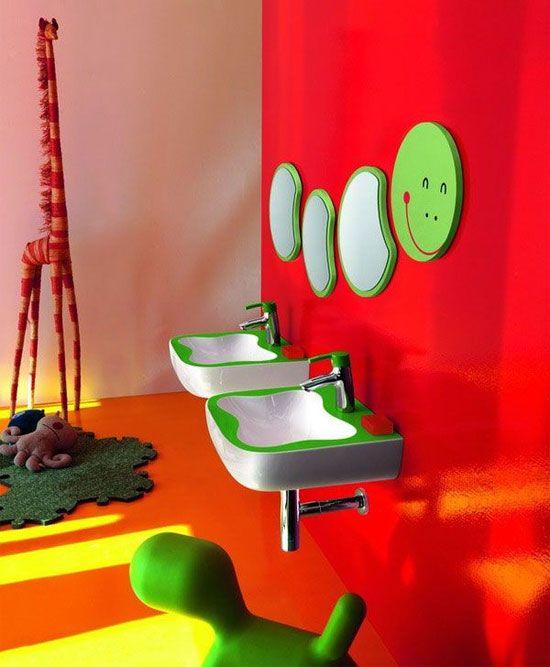 20 baños infantiles coloridos y originales - Blog de ...