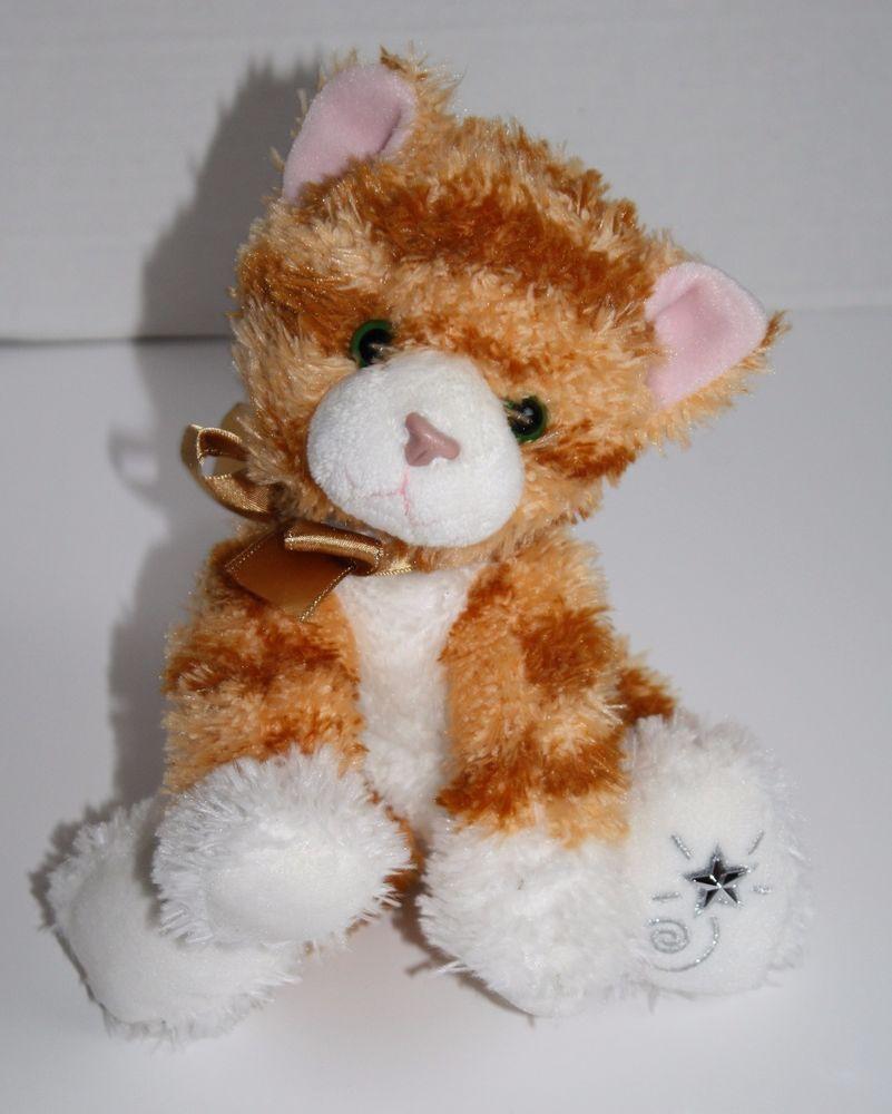 Russ Berrie Shining Stars Orange Tabby Cat Striped Plush Soft Toy Stuffed Animal Orange Tabby Cats Orange Tabby Tabby Cat [ 1000 x 801 Pixel ]