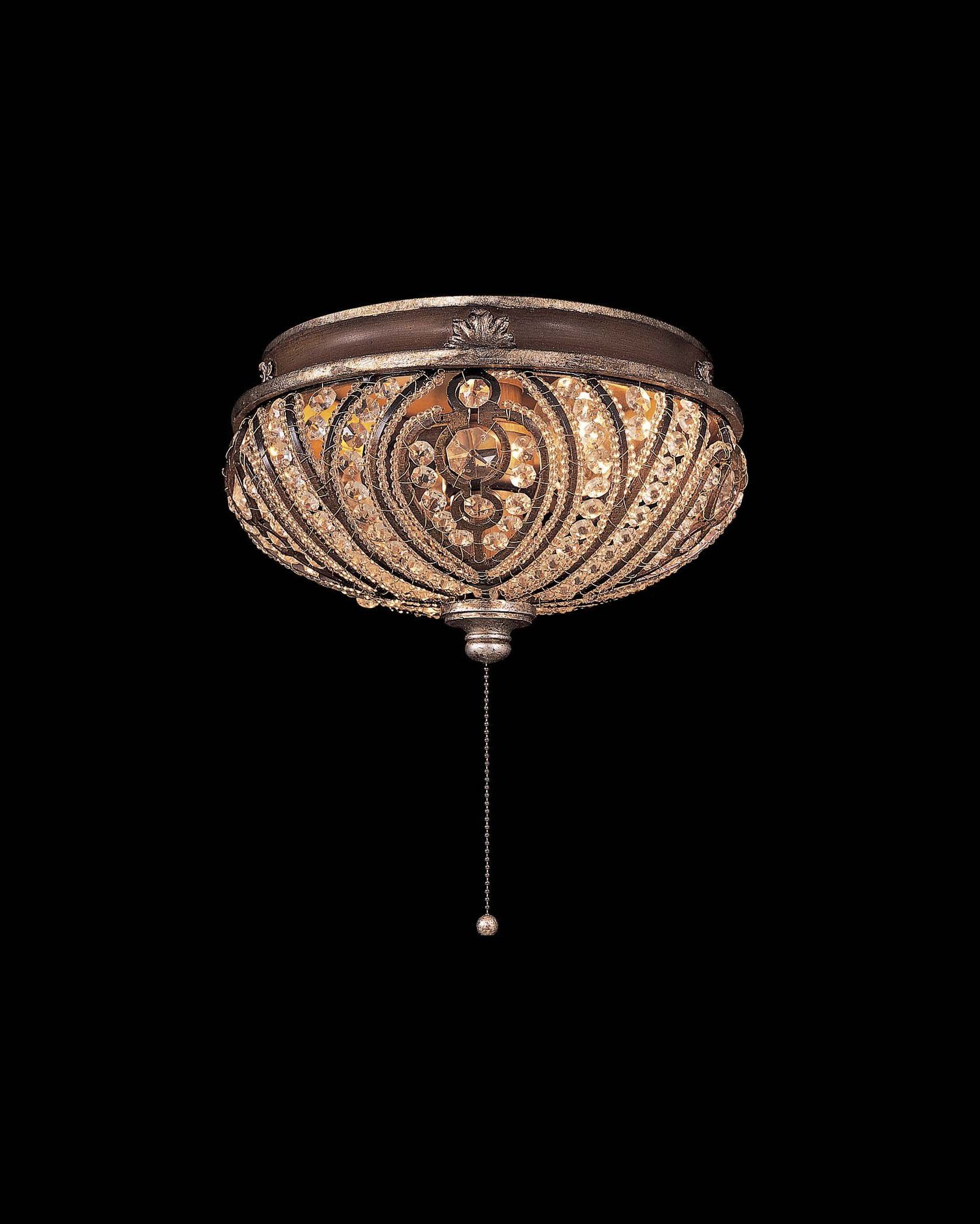 portrayal of pull chain ceiling light fixture for interesting