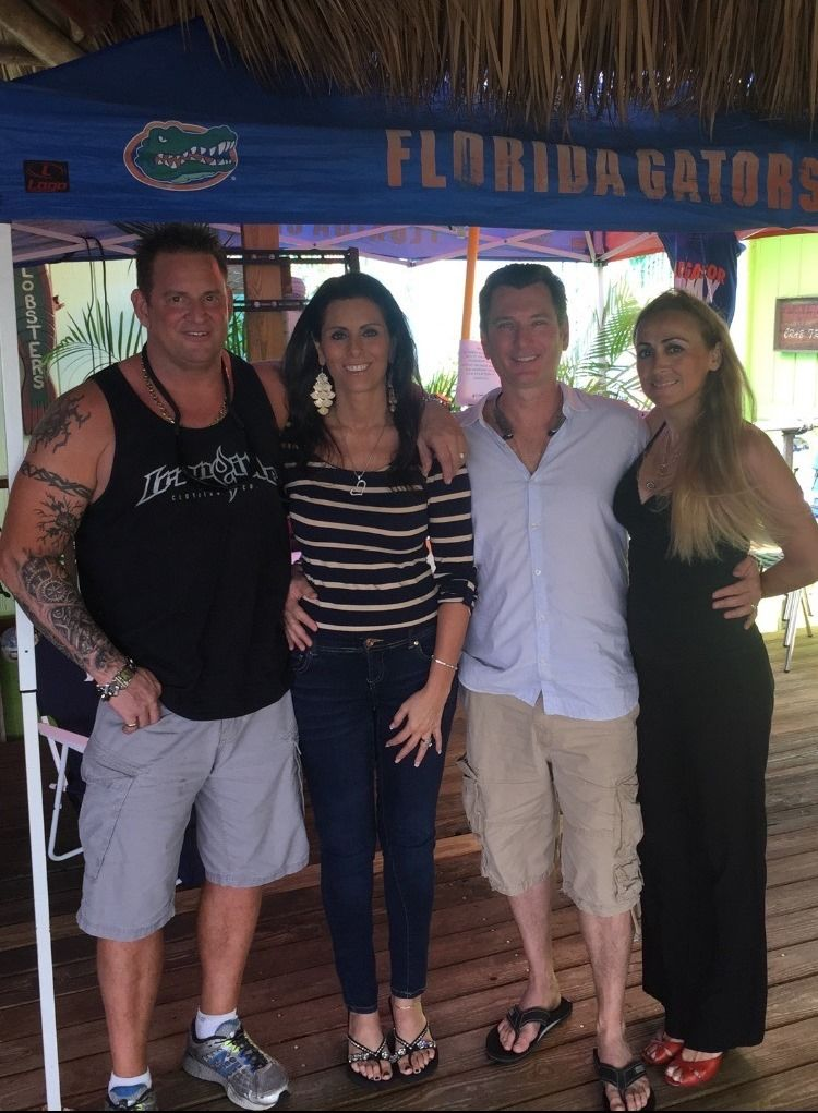 Phil, Lisa, Mike & Esma #oldkeylimehouse #lantana #florida