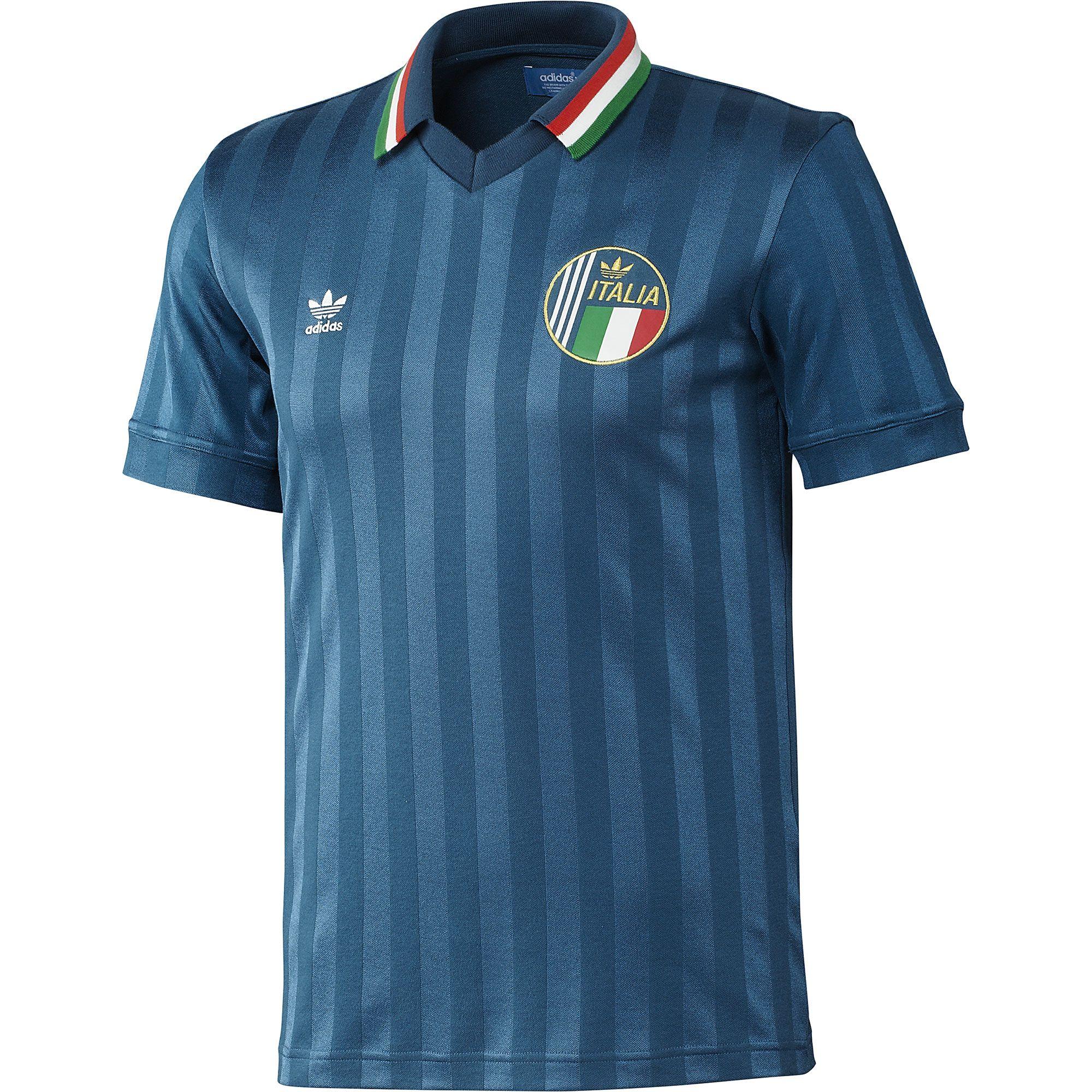 416777dbf706e Chulada!! adidas Jersey Retro Selección Italiana de Fútbol