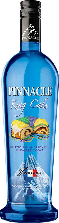Pinnacle King Cake Vodka Flavored Vodka Pinnacle Vodka