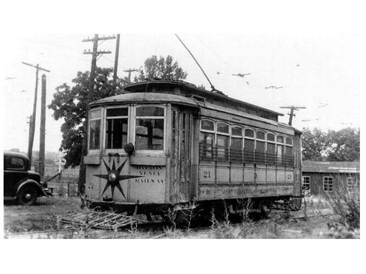 Dayton-Xenia Railway  Interurban line closed in 1937  Dayton