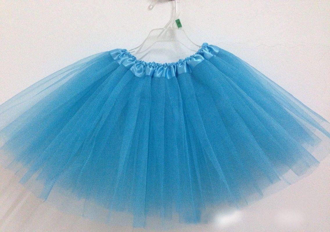 Women Adult Dancewear Tutu Pettiskirt Princess Party Skirts Mini ...