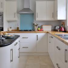 White Kitchen And White Worktops