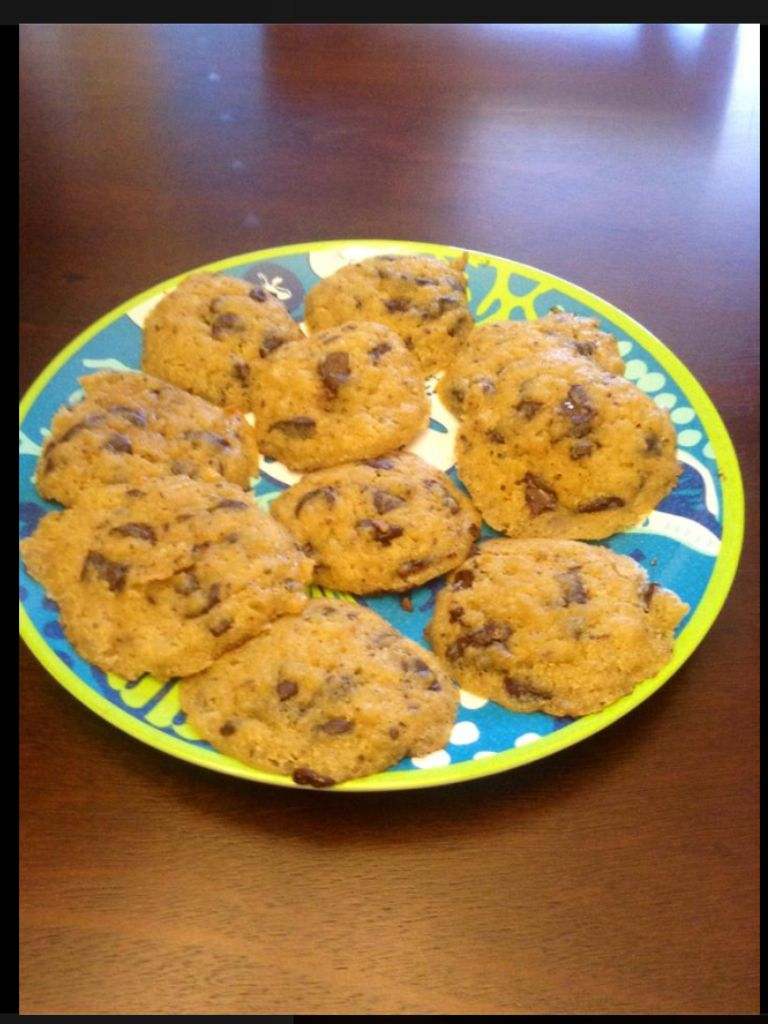 Oat Fiber Chocolate Chip Cookies Someone Else Posted This