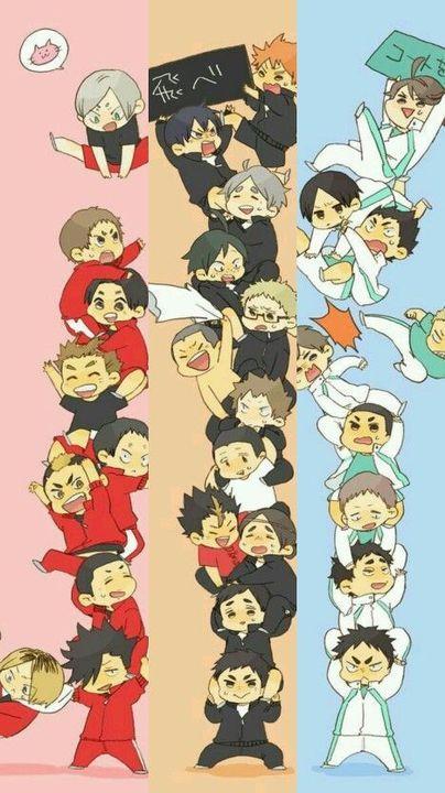 the ruler of the court! haikyuu various x reader! - Thank you haruichi furudate!
