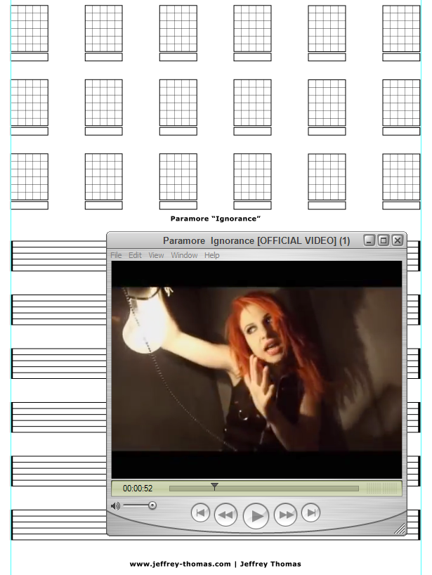 On The Workbench Ignorance By Paramore I Am Starting The Tab