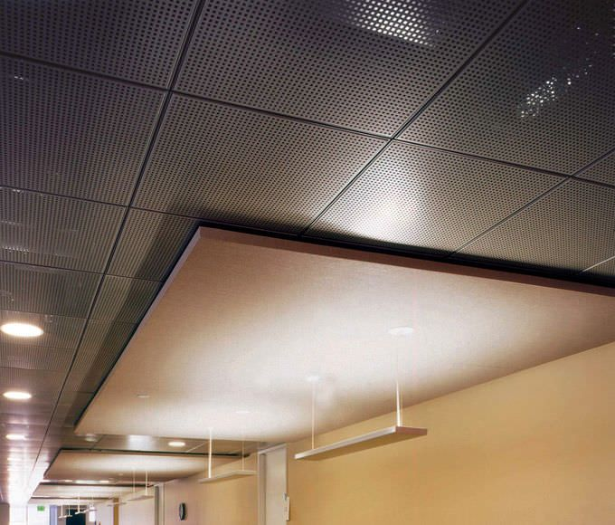 Decorative Suspended Ceiling Tiles Uk Acoustic Suspended Ceiling Panel  Wood  Perforated  Multiples