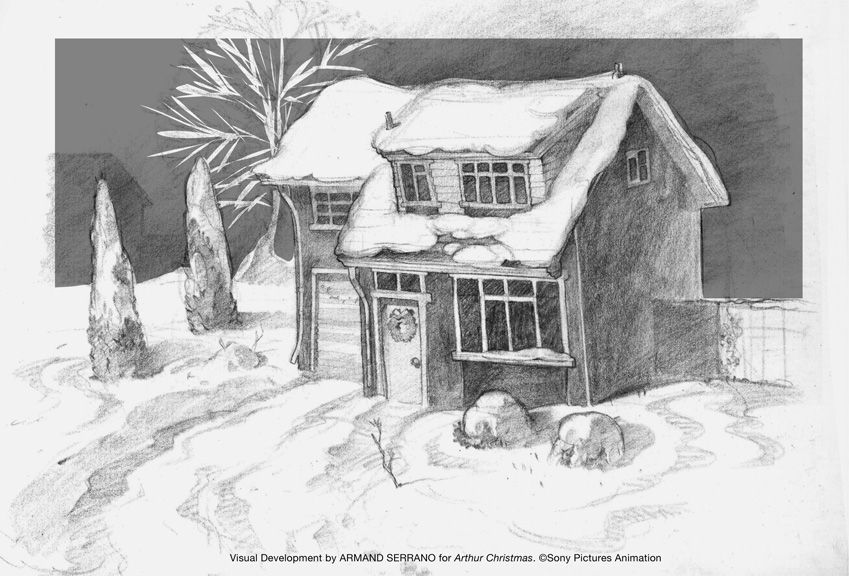christmas pencil drawings yahoo image search results