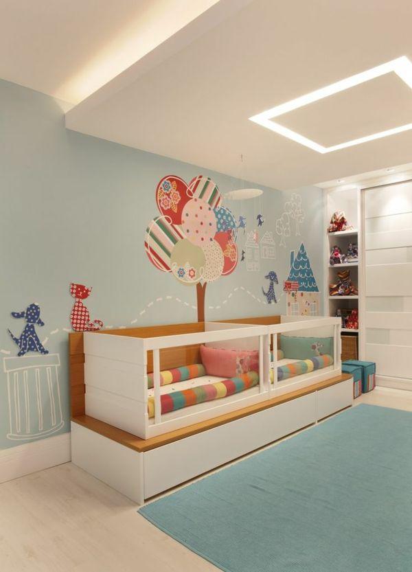 Babyzimmer mädchen und junge einige kombinierte einrichtungsideen