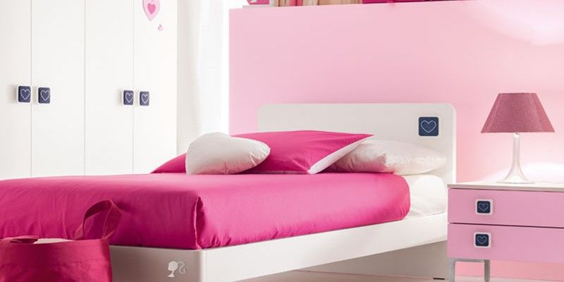 Composiciones para cuarto de ni a barbie david muebles de for Muebles dormitorio nina