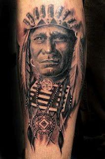 Indianer Pencil Drawing Pinterest Indianer Tattoo Tattoo