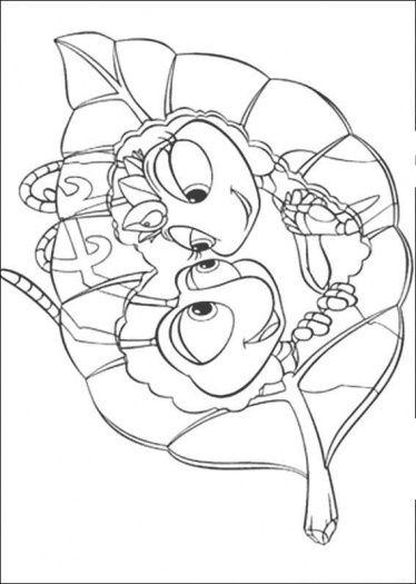 pet shop coloring pages printable Bug\u0027s Love coloring page Super
