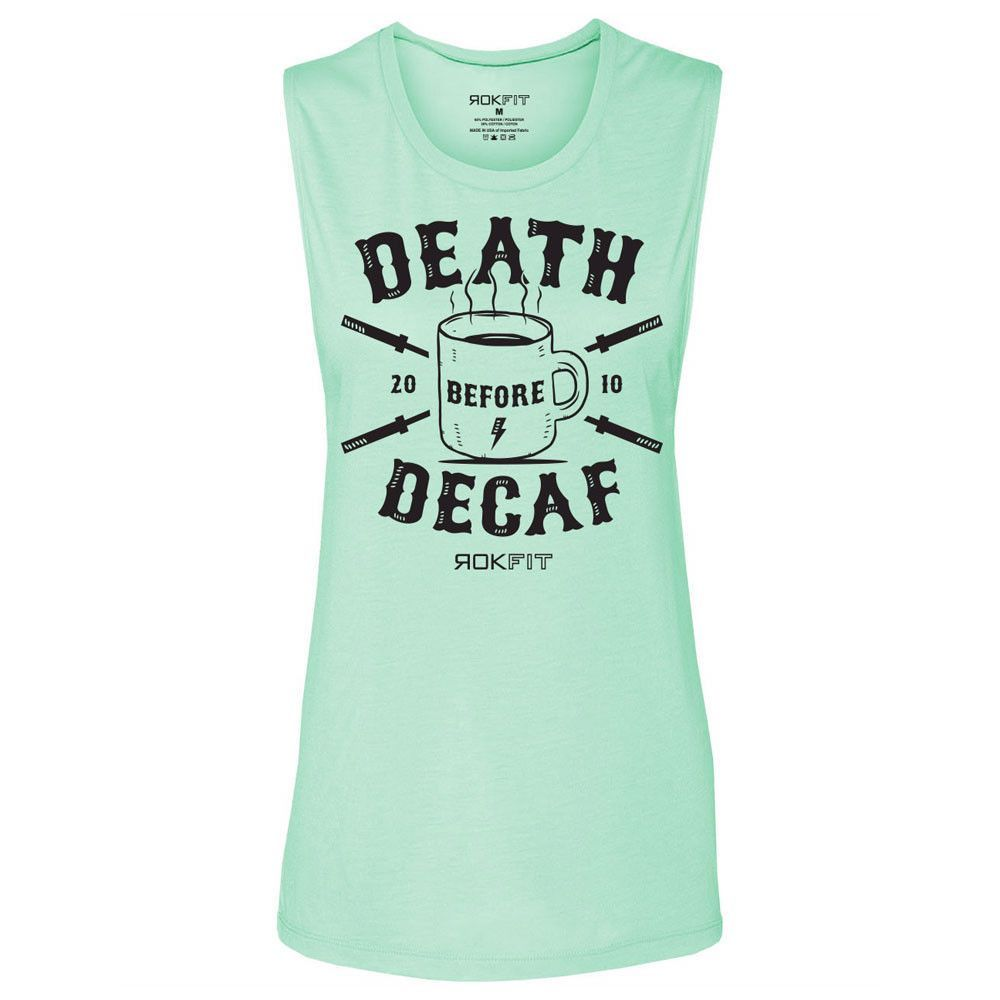 d5e4424472d RokFit Women s Death Before Decaf Tank