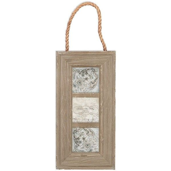Belle Maison 3-Opening Rope Collage Frame (€27) ❤ liked on Polyvore ...