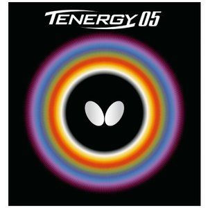 Butterfly Table Tennis Rubber Tenergy 05 05800 Black 1.8-2.1mm
