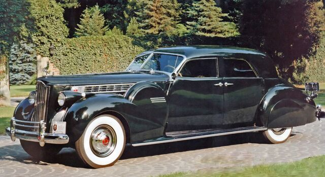 American 180 Full Auto For Sale: Packard Super 8 180 Sport Sedan Darrin 1940