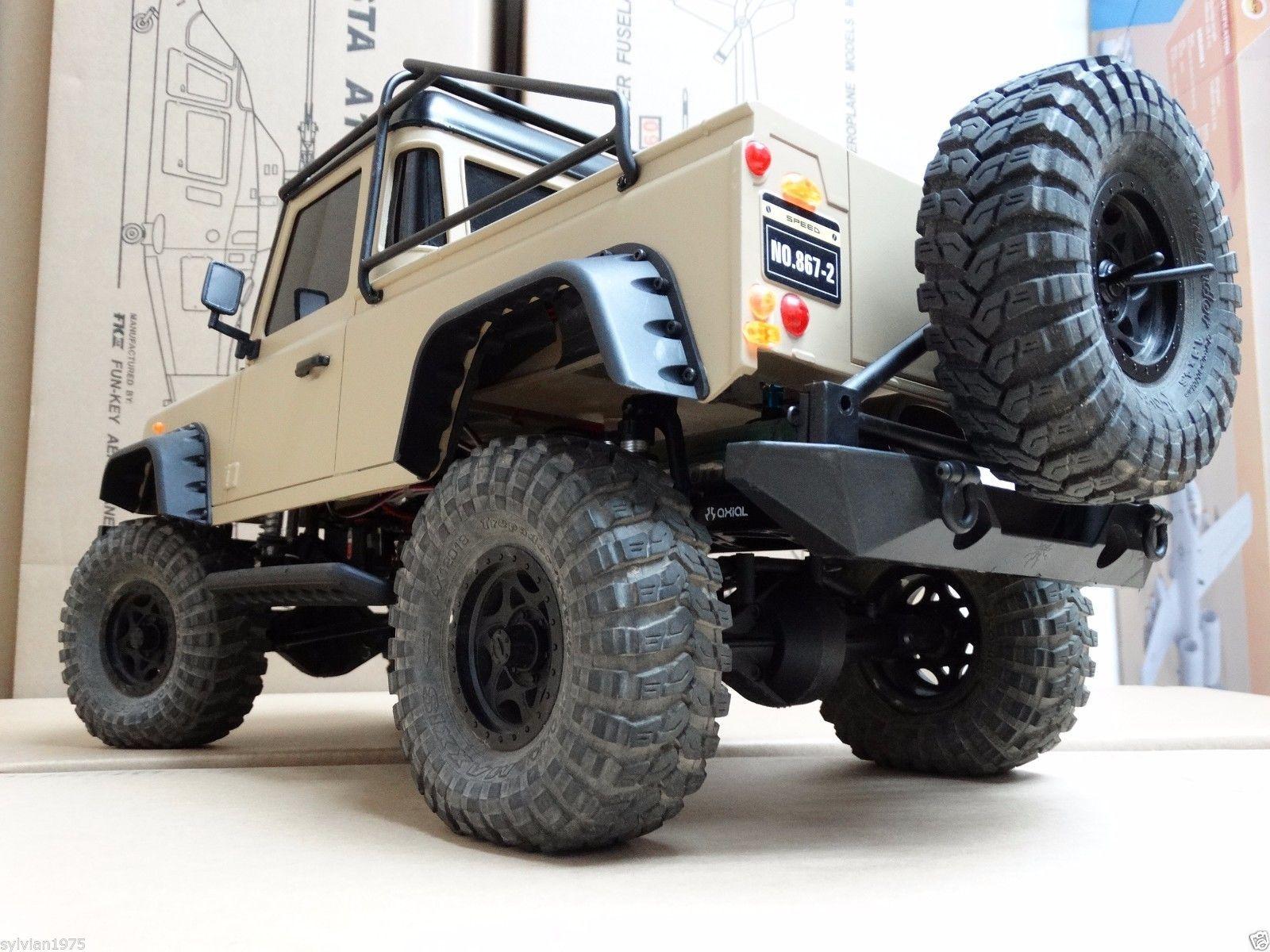 Safari Snorkel METAL ROLL CAGE 313 mm 1//10 Defender D90 Pick Up Truck Body