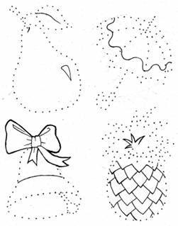 ЗАДАНИЕ №7: Обведи рисунки по точкам и раскрась их ...