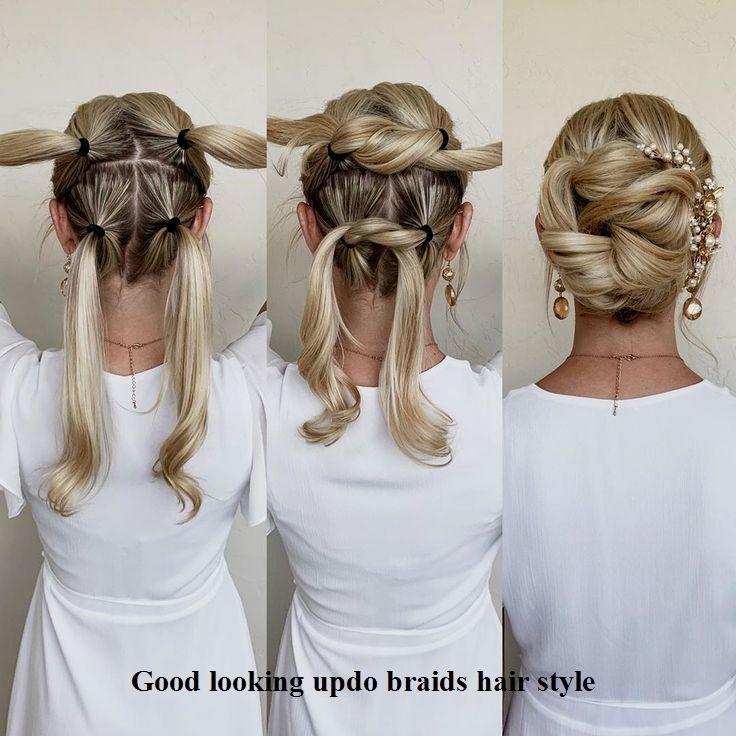 Gut aussehende Zopfideen #Haarspangen