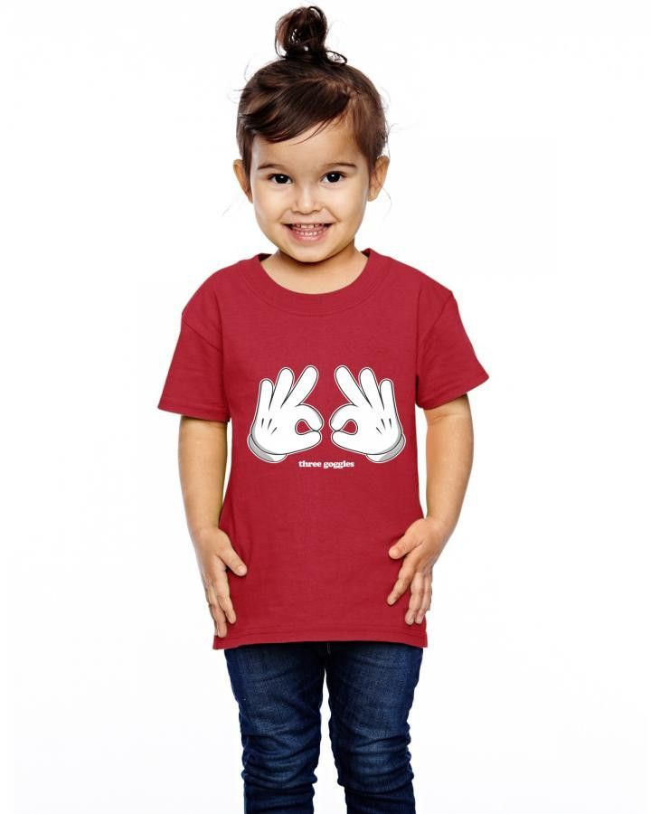 mickey hands owo Toddler T-shirt