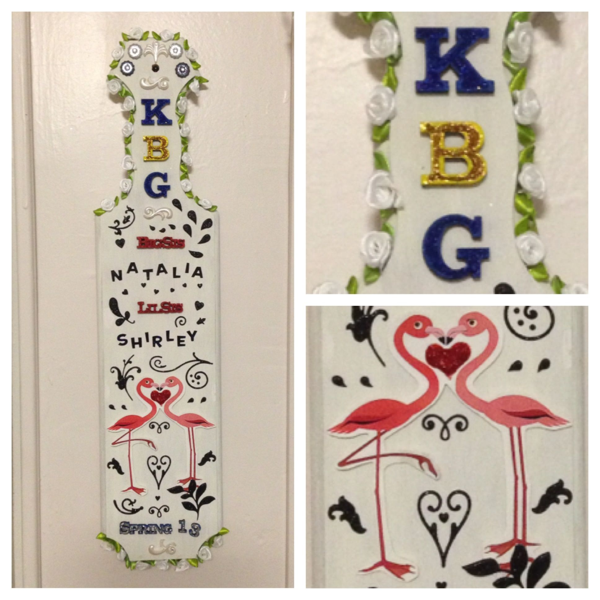 Paddles by Alpha Beta Chapter of KBG
