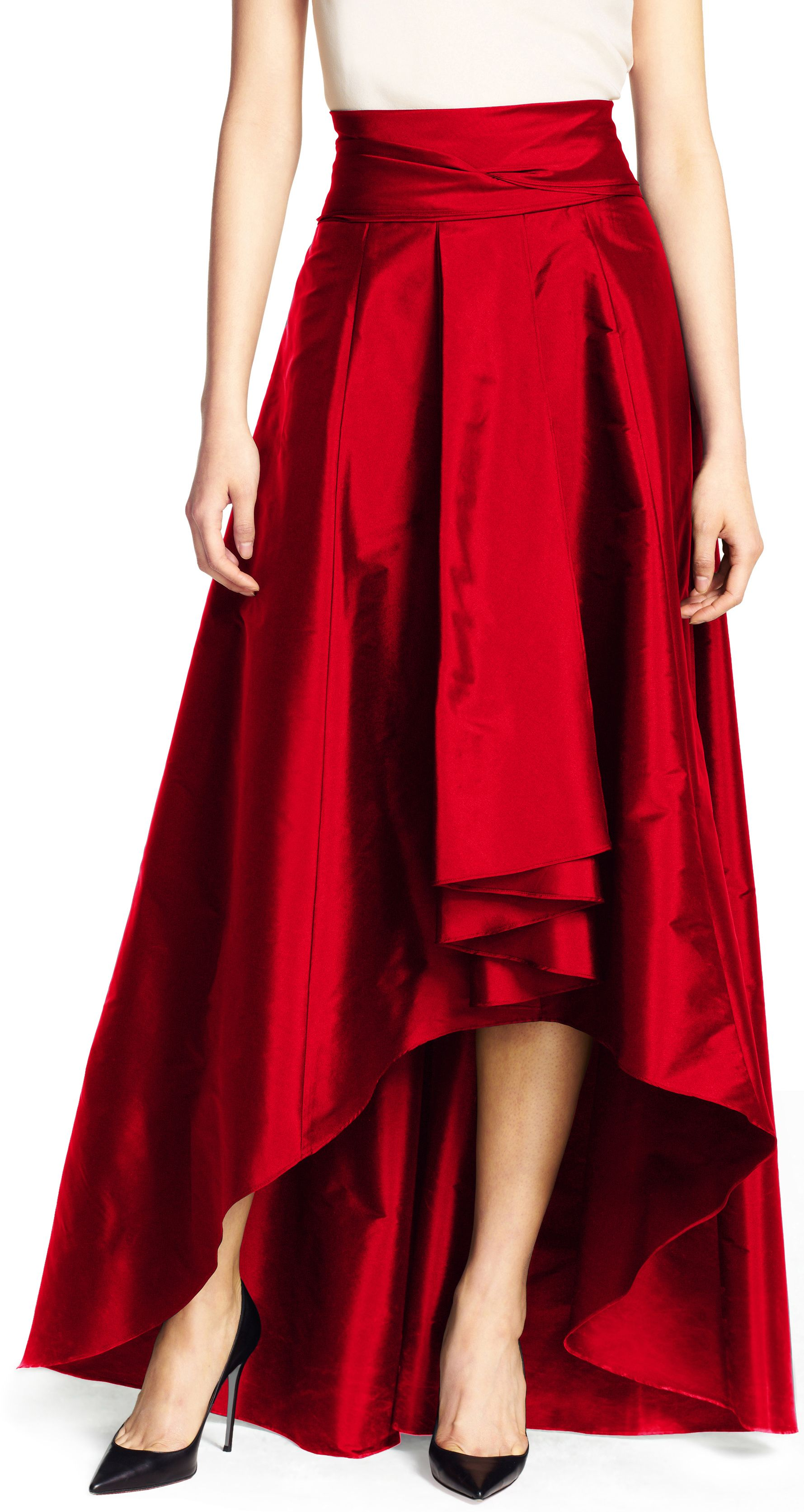 High low ball skirt | Ball skirt, Adrianna papell and High low