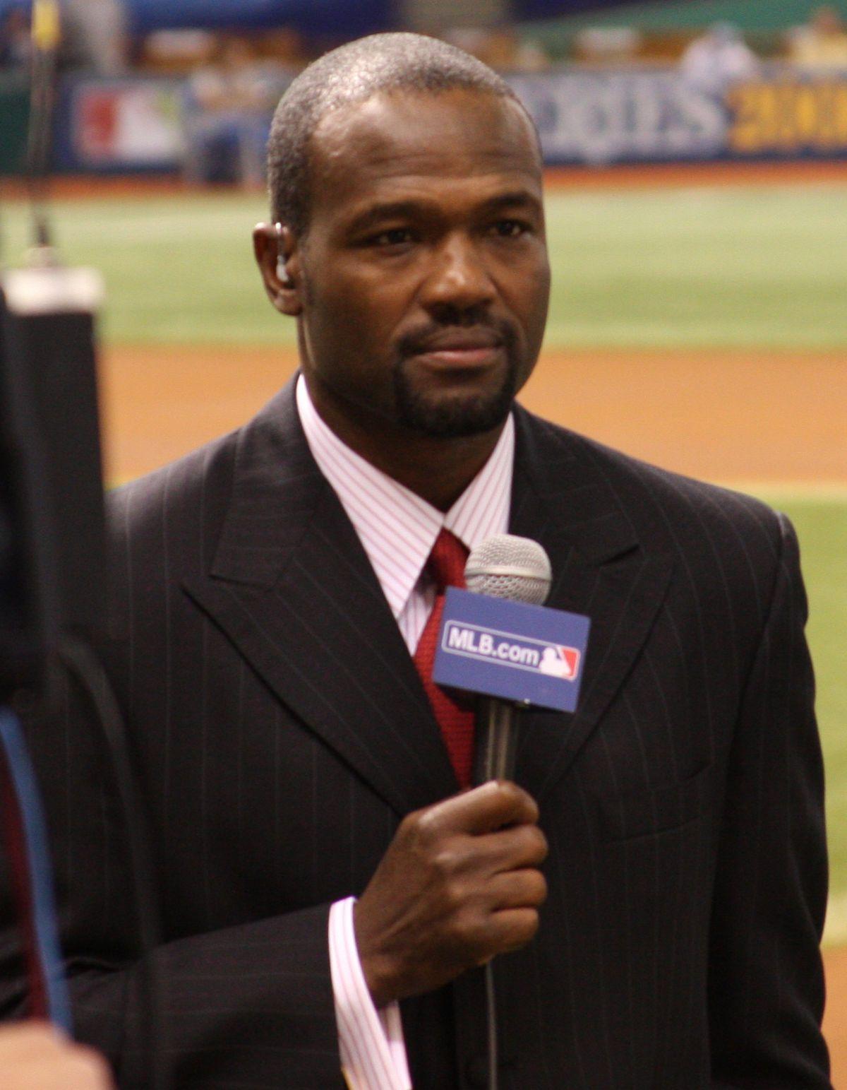 Harold Reynolds with Fox sports