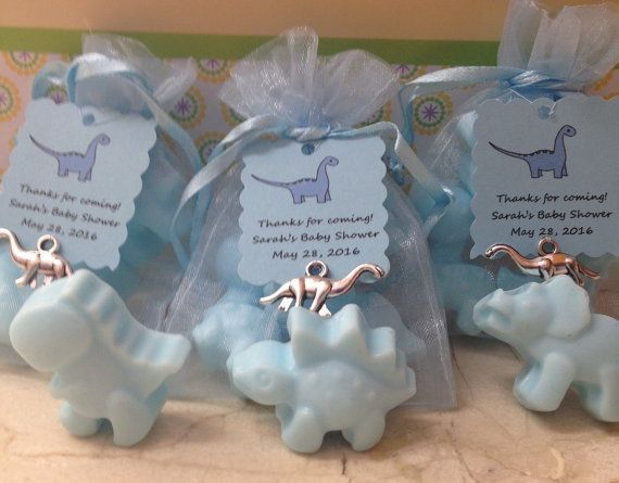 30 Mini Dinosaur Baby Shower/Party Favors 3 By DesignsbyMJAnderson