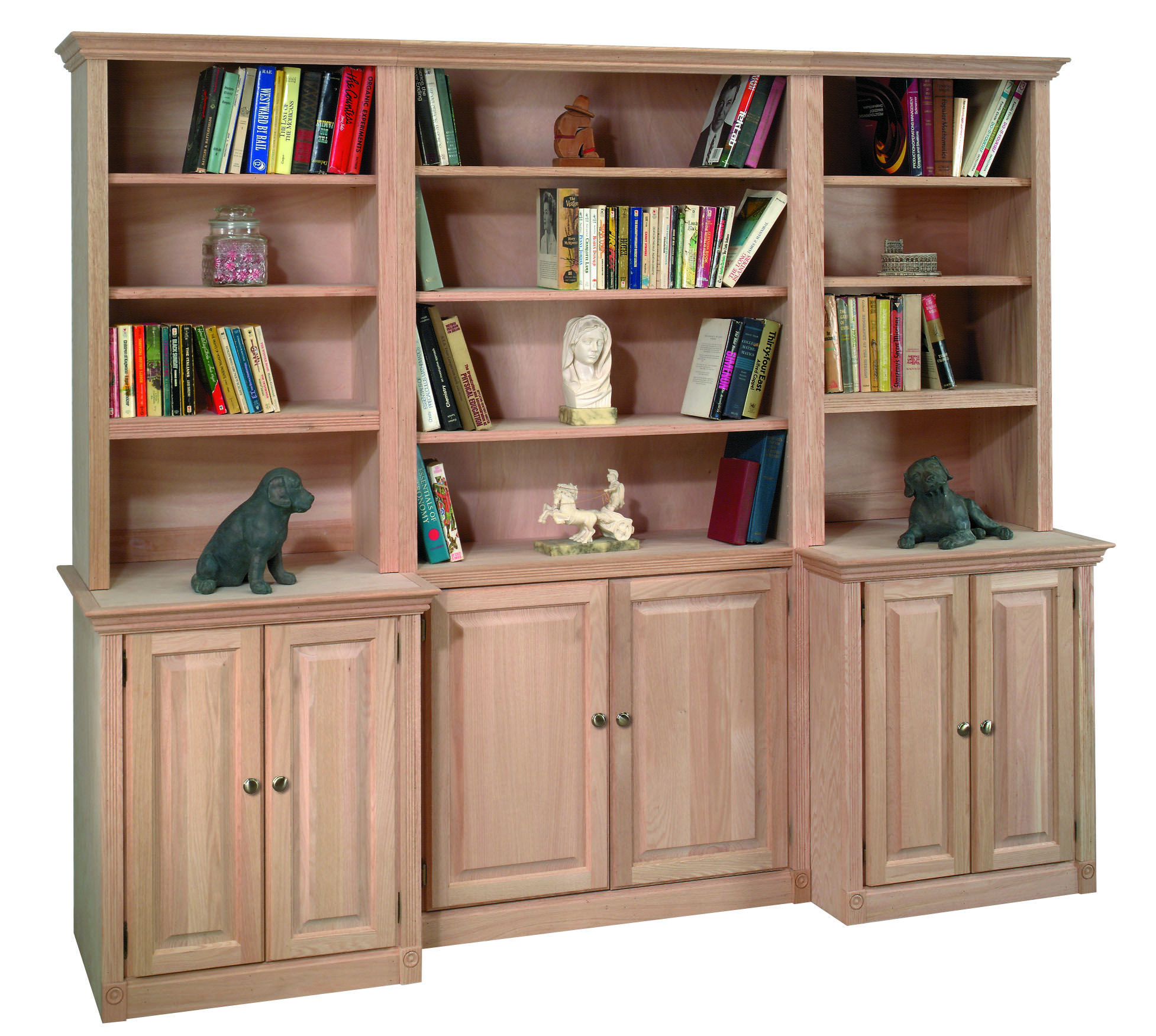 Beautiful Solid Wood Civita Bookcase And Wall Unit 6 Styles To Choose From With Plenty To Choose From W Wood Shelving Units Brown Furniture House Interior