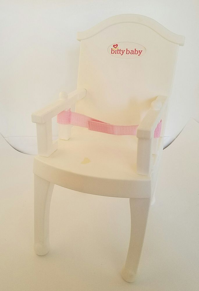 american girl high chair living room set doll bitty baby with belt rare htf white dolls bears by brand company character ebay