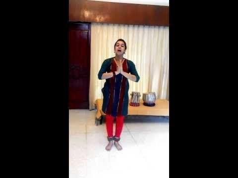 Learn Kathak Indian Classical dance: step 2 bhoomi pranam by Acharya Pratishtha Sharma