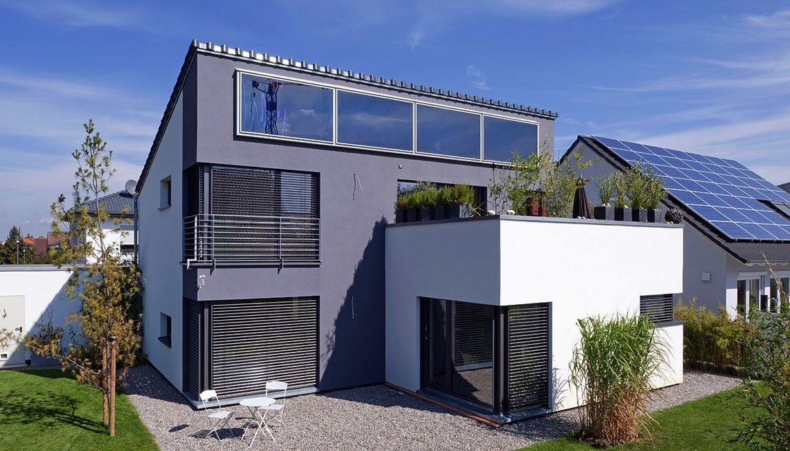 anbau mit dachterrasse wohn design. Black Bedroom Furniture Sets. Home Design Ideas