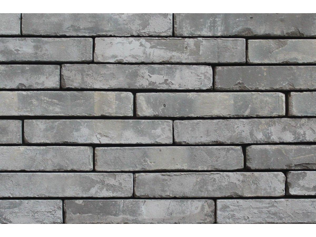 Klinkerriemchen Retro Riemchen K297r Klinker Fassade Muster Tafel Graubunt Gedampft Klinkerriemchen Klinker Riemchen Klinker
