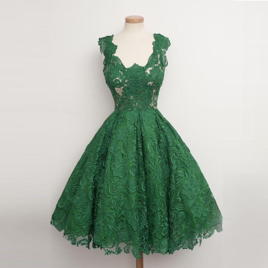 Emerald green prom dress  Discount Brand Name Summer Dresses   Women Name Brand Summer