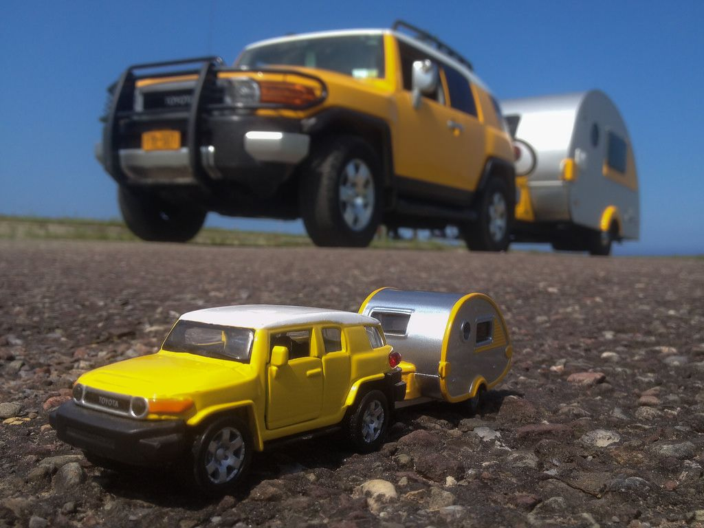 Posted in retro vintage tagged classic cars teardrop caravan vintage -  Dangler Tags Travel Tourism Yellow Truck Vintage Toy Outside Toys Outdoors Looking Sunny Retro Transportation Toyota Trailer Teardrop Camper Fj Cruiser