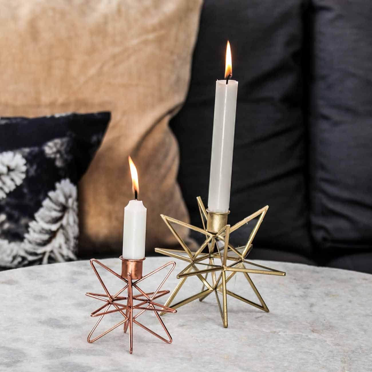 Kerzenstander Kupferfarben Pink Klein In 2019 Designed Fires