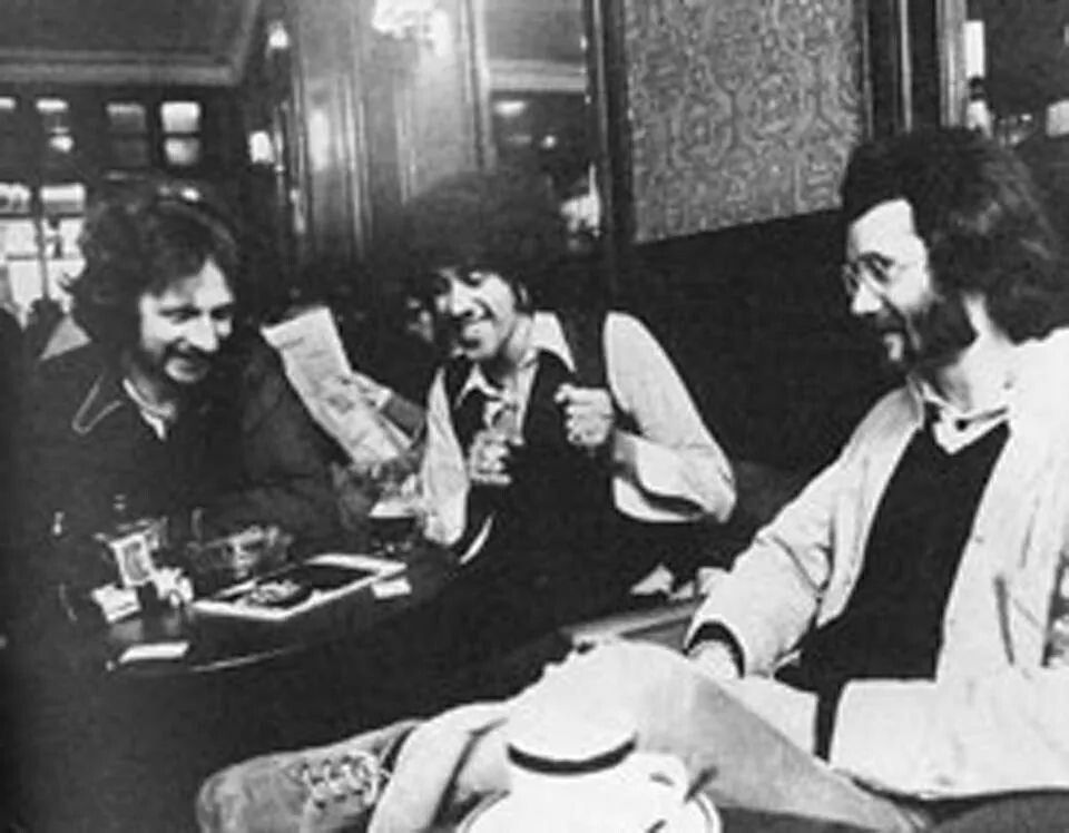 Nearys Pub Dublin 1973 Phil Lynott And Jim Fitzpatrick