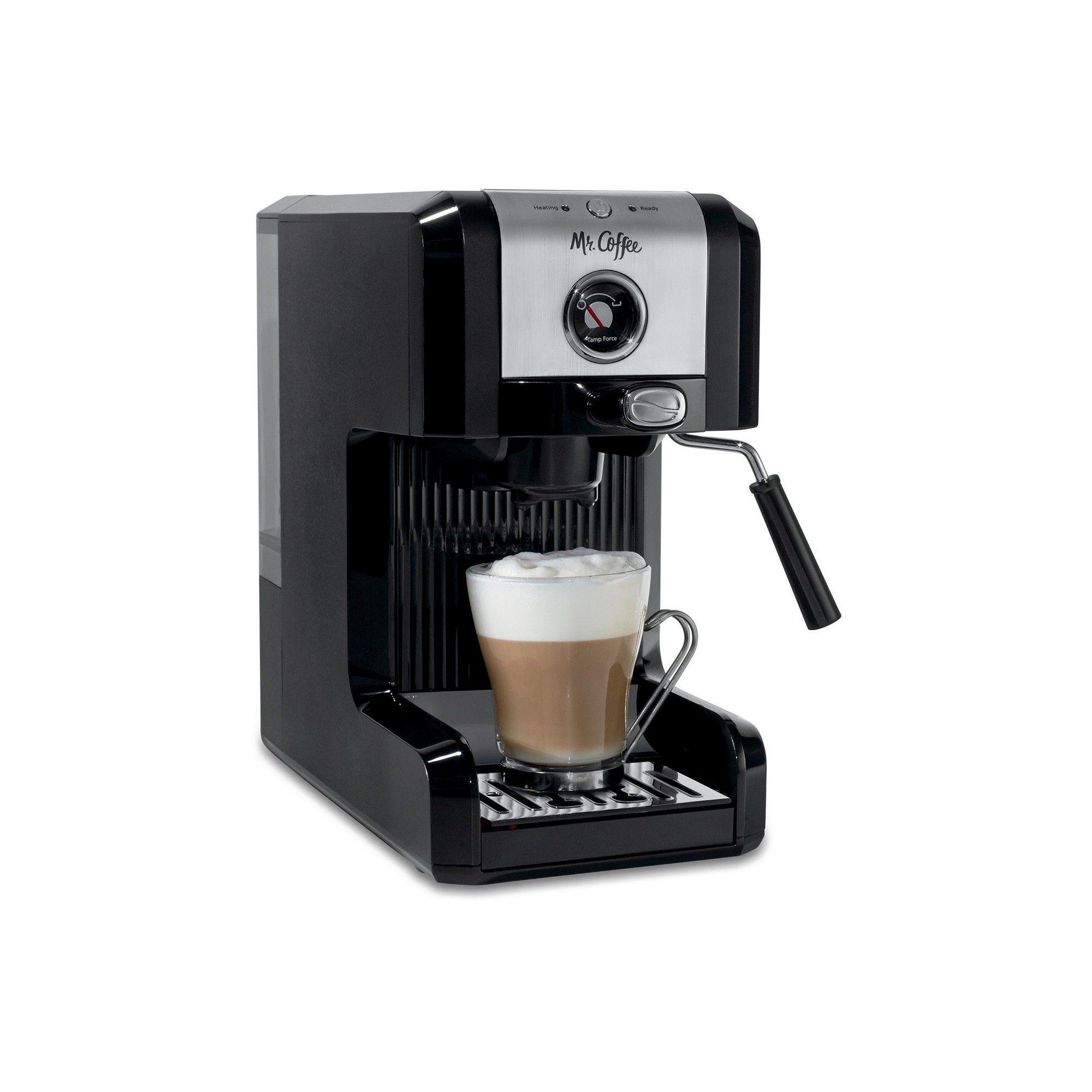 Mr. Coffee Simply Espresso - Black BVMC-ECMPT1000 #espressoathome