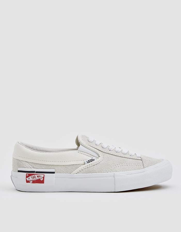 31bbcd53fd Vault by Vans   Slip-on Cap LX Sneaker in Marshmallow True White in ...