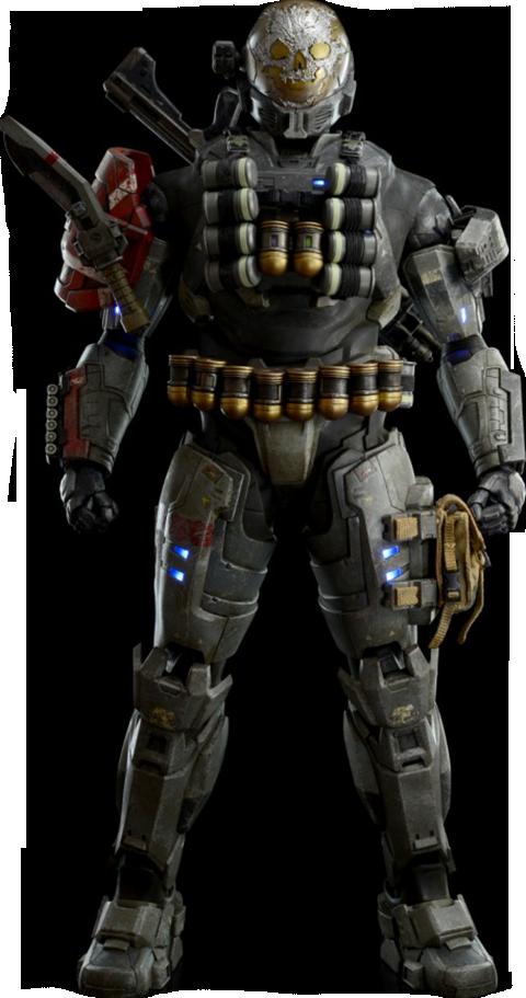 A-239 Emile Spartan III - Halo Reach Sixth Scale Figure by