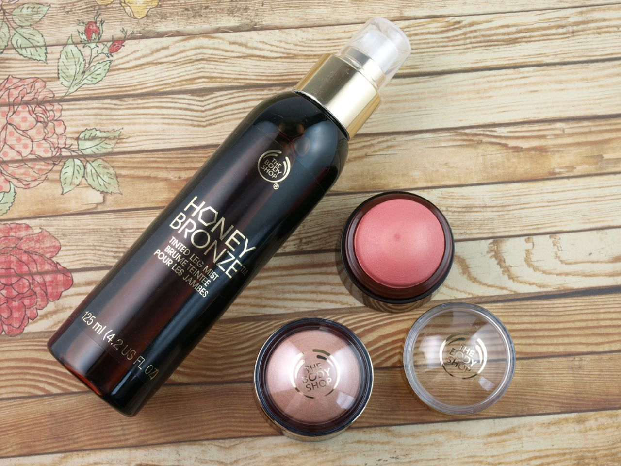 The Body Shop Honey Bronze Collection Tinted Leg Mist