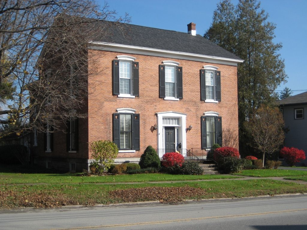Brick Historic House Trim Shutters And Roof Made Easy Brick Exterior House House Exterior Color Schemes Red Brick House