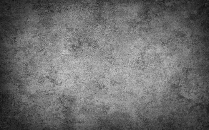 Download wallpapers stone texture, 4k, gray background