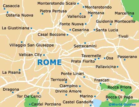Rome Maps and Orientation Rome Lazio Italy LAZIO Pinterest