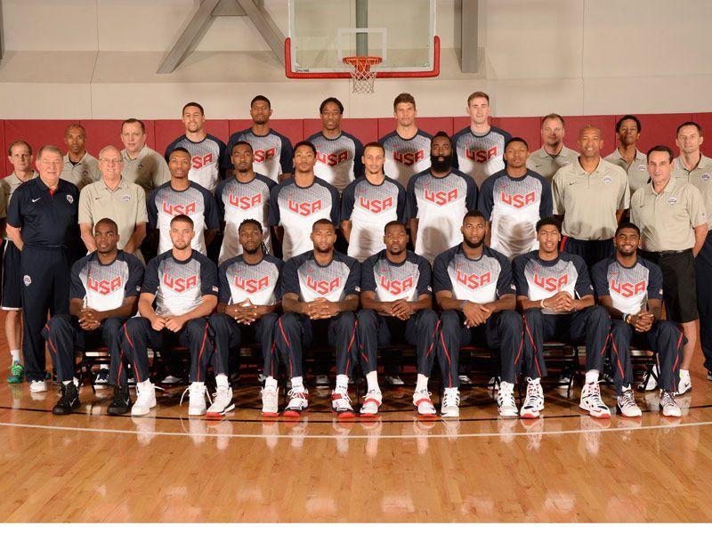 Espn To Follow Men S National Team To The Fiba Basketball World Cup Team Usa Basketball Usa Basketball Fiba Basketball