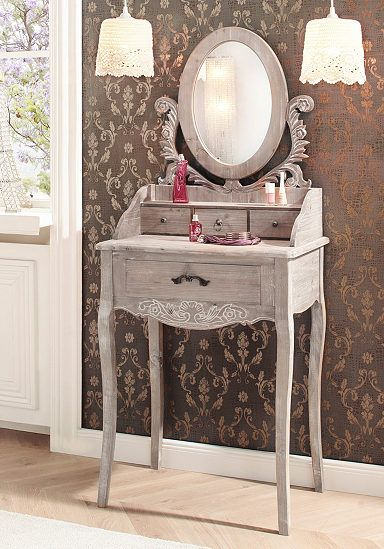 schminktisch home affaire dijon living pinterest zimmer m dchen teenager und. Black Bedroom Furniture Sets. Home Design Ideas