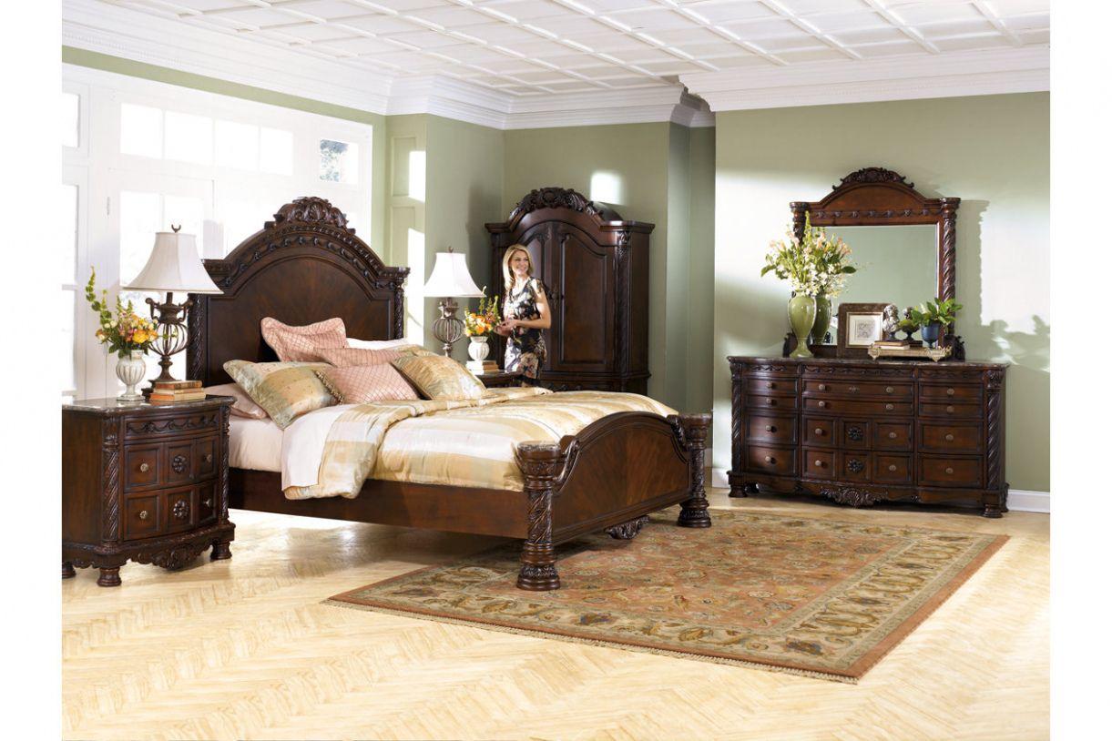 Ashley North Shore King Bedroom Set